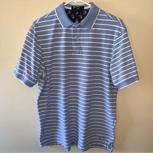Cremieux Striped Polo Shirt